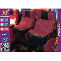 Wholesale ISO Certification Padding Armrest Folding Theater Seats With Flame Retardant Fabric from china suppliers