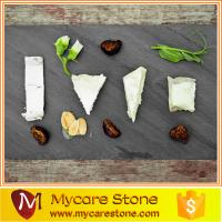 Wholesale mycares stone cheap black natural slate cheese board from china suppliers