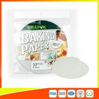 "Wholesale Silicone 8 "" Kitchen Non Stick Baking Sheet / Parchment Paper For Cooking from china suppliers"