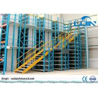 Wholesale Workshop Rack Supported Mezzanine Floor With Walkways Multi Layer from china suppliers