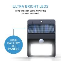 Wholesale Water proof Motion Sensor Solar Light / solar security lights with motion sensor from china suppliers