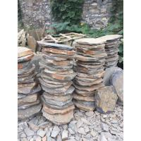 Wholesale Multicolor Slate Stepping Stones,Rusty Slate Round Garden Pavers,Natural Stone Pavement for Landscaping from china suppliers
