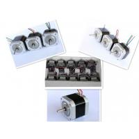 Wholesale Nema 17 Four Phase Hybrid Stepper Motor For Textile Machinery / CNC Router from china suppliers