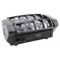 Wholesale 8 Eyes Rgbw 4 in 1 Led Beam Disco Stage Lights Moving Head Black Plastic Housing from china suppliers