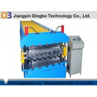Wholesale Double Layer Roll Forming Machine with Speed 15-18m / min for Corrugated Roof from china suppliers