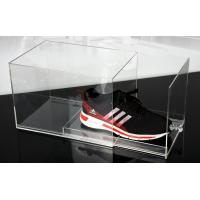 Wholesale Fashion Plexiglass Display Shoe Drawer Case / Plastic Acrylic Shoe Box Storage Organizer from china suppliers