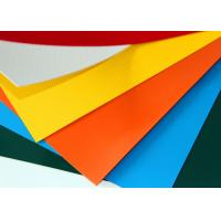 Buy cheap waterproof PVC tarpaulin/1000D PVC Coated Polyester Fabric for car roof bag from wholesalers