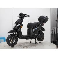 Wholesale Black Cool Color Ladies Electric Scooter 600W 800w Soft Leather Seat Rear Box from china suppliers