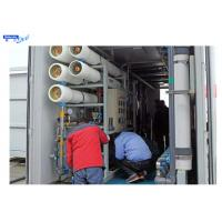 Wholesale RO Mobile Water Filtration Plant  20ft Mobile Container ISO14001 Certification from china suppliers