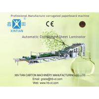 Wholesale High Precision Carton Folding Machine of Automatic Flute Laminator For Paper Packing Box from china suppliers