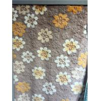 Wholesale Multi Coloured Textured Home Textile Fabric Floral Upholstery Stain Resistant from china suppliers