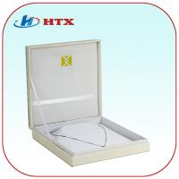Wholesale High Quality Wood Necklace Box with Gold Stamped from china suppliers