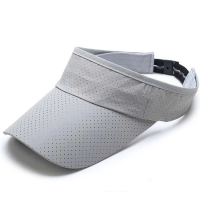 Wholesale AZO Free Structured 3 Panel 100% Cotton Sun Visor Cap from china suppliers