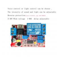 Wholesale Sound and light control / sound control relay switch control module induction switch delay adjustable from china suppliers