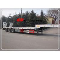 Wholesale 40 Ft 3 Axle 30 Ton Hydraulic Low Bed Semi Trailer With Fuwa Bpw Axle from china suppliers