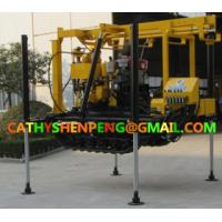 Buy cheap 200 Crawler type Hydraulic water well drilling rig with BW160 Mud Pump from wholesalers