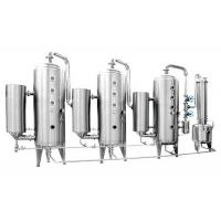 Wholesale Triple effect energy saving Cartridge Filter Vessels for starch sugar & food breast product from china suppliers