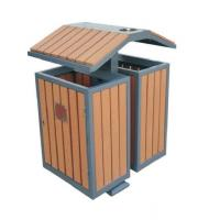 Wholesale WPC wood plastic composite waste bins RMD-D3 from china suppliers