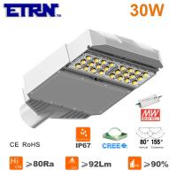 Wholesale ETRN Brand CREE LED Meanwell Power Supply 30W LED Streetlights Garden Road Square Parking from china suppliers