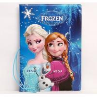 Wholesale Frozen Elsa Anna 3D Travel Passport Holder from china suppliers