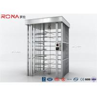 Buy cheap Durable Automatic Security Full Height Turnstile  Pedestrian System With 304# Stainless Steel 30 Persons/Minute from wholesalers