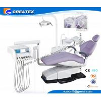 Wholesale Top Mounted Dental Chair Unit With Floor Cabinet LCD Display On Instrument tray from china suppliers