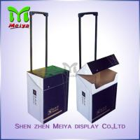 Wholesale Exhibition Cardboard Trolley Box , Carton Trolley Paper Box For Fair Promotion from china suppliers