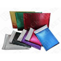 Wholesale Large Express Post Metallic Mailing Bags , Pink / Gold Foil Envelopes from china suppliers