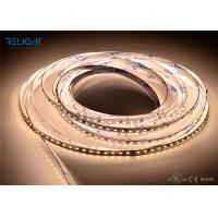 Wholesale Flexible DC12v / 24v 4000LM Outdoor Led Strip Lights 120pcs/M 9.6w/M from china suppliers