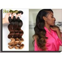 "Wholesale No Dye Ends 5A Grade Peruvian Virgin  Hair Weft 3 Tone Loose Wave 12""-28"" from china suppliers"