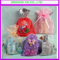 Wholesale Promotional organza gift bags, organza bags manufactory from china suppliers