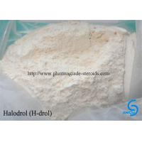 Wholesale Prohormone Hormone Halodrol/Halovar  white powder building muscles from china suppliers
