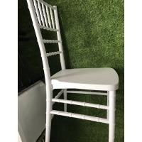 Buy cheap good quality white color wedding plastic chiavari chair wedding chair plastic wedding chairs from wholesalers