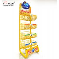 Wholesale 1 Minitue Understand POP Merchandise Displays Attractive Wire Snack Display Racks from china suppliers
