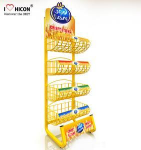 Wholesale 1 Minitue Understand POP Merchandise Displays Attractive Wire Snack Display Racks from china suppliers