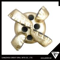 China 161mmm PDC golden drill bitsSteel body 6 blades PDC drill bits steel body on sale