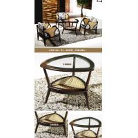 Wholesale bamboo rattan chair table set, living room chair table set, classic chair table, #1138 from china suppliers