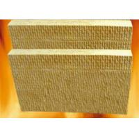 Wholesale 100mm sound proof Insulation Rock Wool board chemical stability For high temperature pipe from china suppliers