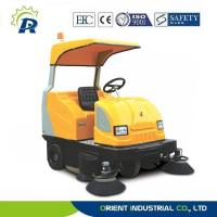 Buy cheap Dual brushes ride-on floor sweeper from wholesalers