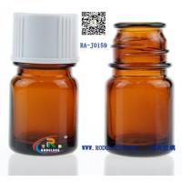 Buy cheap 15ml amber sample glass bottle for flavour,fragrance from wholesalers
