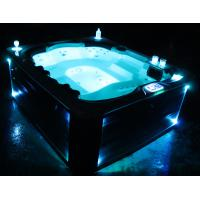 acrylic free standing hot sale whirlpool massage outdoor spa tub(Athena)
