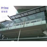 composite decking balustrade / staircase balustrade /glass veranda