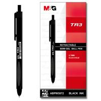 Wholesale Ribed Grip M&G Poketable Semi-Gel Gel Ballpoint Pen Acid Free Pigment , Quick dry ink from china suppliers