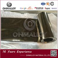 Wholesale Silvery Color Titanium Foil TA1 Size 0.06mm X 200mm Bright Surface 4.51 Density from china suppliers