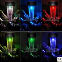Wholesale 7 colors change colorful solar light ,yard light from china suppliers