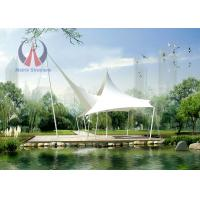 Wholesale Luxurious Simple Waterproof Shade Sail Sun Canopy , Pool Sun Shade Sail Structures from china suppliers