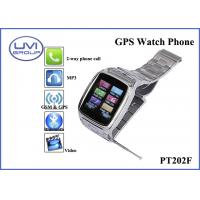 Wholesale GPS Realtime Personal Tracking Watch Phone with 1.3MP Camera + Bluetooth + FM+ MP3, Video Player, Ebook from china suppliers