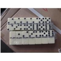 Buy cheap Domino set, Material Melamine , Total 28pcs, double six, packaged in PVC box, Size:48x24x7mm, part:JYX-D1681 from wholesalers