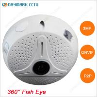 Wholesale Digital PTZ 128g SD Card Recording HD 3MP CCTV Fisheye Camera from china suppliers