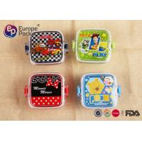 Wholesale 120ml 4OZ Childrens Plastic Lunch Box With Handle Reusable Lunch Containers from china suppliers